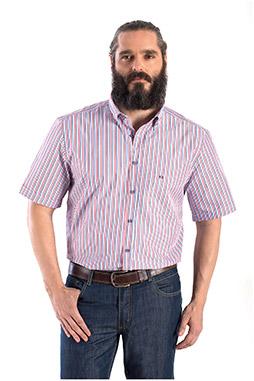 Camisas, Sport Manga Corta, 108355, MARINO
