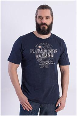 Sport, Camisetas M. Corta, 108362, MARINO