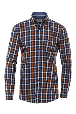 Camisas, Sport Manga Larga, 108370, MARINO