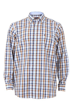 Camisas, Sport Manga Larga, 108372, MARINO