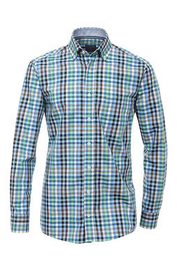 Camisas, Sport Manga Larga, 108374, CELESTE