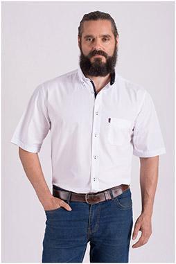 Camisas, Sport Manga Corta, 108426, BLANCO