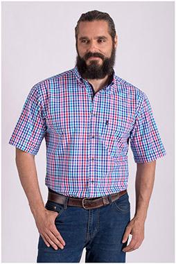 Camisas, Sport Manga Corta, 108429, MARINO