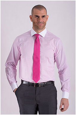 Camisas, Vestir Manga Larga, 108432, ROSA