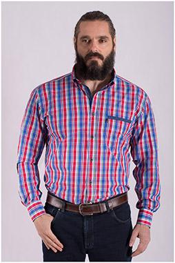 Camisas, Sport Manga Larga, 108436, MARINO