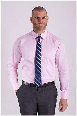 Camisas, Vestir Manga Larga, 108441, ROSA