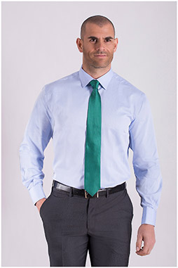 Camisas, Vestir Manga Larga, 108441, CELESTE