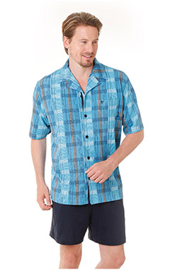 Homewear, Pijama M. Corta, 108459, COBALTO