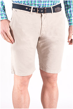 Pantalones, Bermudas, 108473, PIEDRA