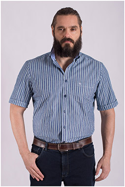 Camisas, Sport Manga Corta, 108491, VERDE