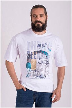 Sport, Camisetas M. Corta, 108510, BLANCO