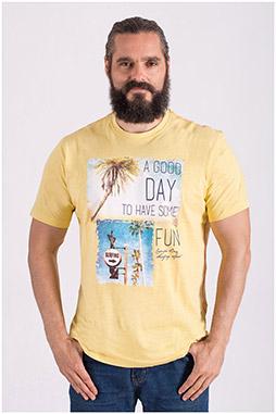 Sport, Camisetas M. Corta, 108511, AMARILLO