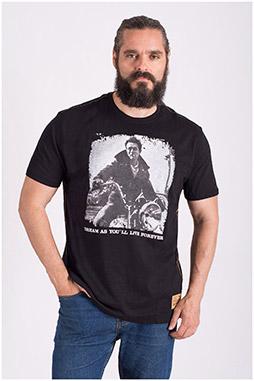Sport, Camisetas M. Corta, 108512, NEGRO