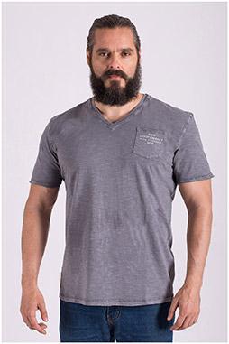 Sport, Camisetas M. Corta, 108514, PIEDRA