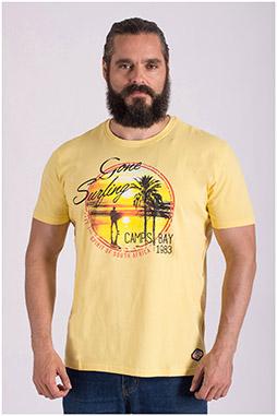 Sport, Camisetas M. Corta, 108516, AMARILLO