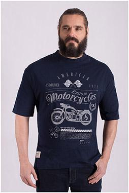Sport, Camisetas M. Corta, 108519, MARINO