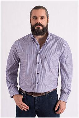 Camisas, Sport Manga Larga, 108554, MARINO