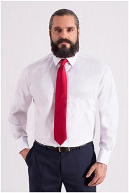 Camisas, Vestir Manga Larga, 108556, BLANCO