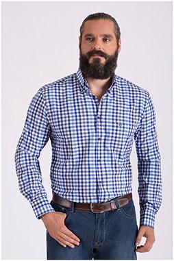 Camisas, Sport Manga Larga, 108559, MARINO