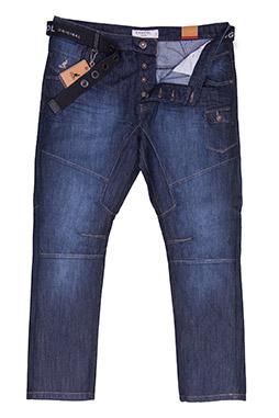 Pantalones, Vaqueros, 108581, INDIGO