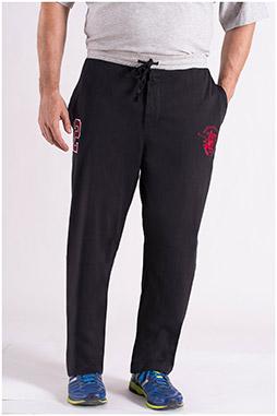 Pantalones, Chandal, 108583, NEGRO