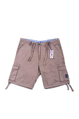 Pantalones, Bermudas, 108586, BEIGE