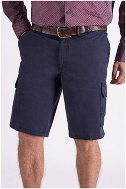 Pantalones, Bermudas, 108629, MARINO