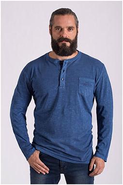 Sport, Camisetas M. Larga, 108648, INDIGO