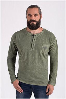 Sport, Camisetas M. Larga, 108648, VERDE