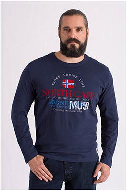 Sport, Camisetas M. Larga, 108650, MARINO