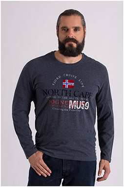Sport, Camisetas M. Larga, 108650, GRIS MEDIO