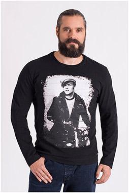 Sport, Camisetas M. Larga, 108652, NEGRO