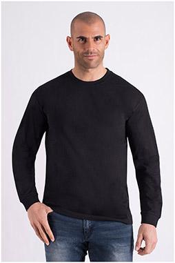 Sport, Camisetas M. Larga, 108657, NEGRO