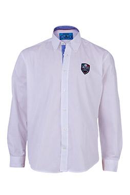 Camisas, Sport Manga Larga, 108880, BLANCO