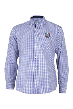 Camisas, Sport Manga Larga, 108881, CELESTE