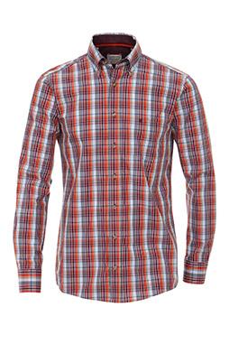 Camisas, Sport Manga Larga, 108887, ROJO