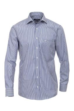 Camisas, Vestir Manga Larga, 108920, AZUL