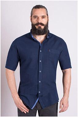 Camisas, Sport Manga Corta, 108981, MARINO