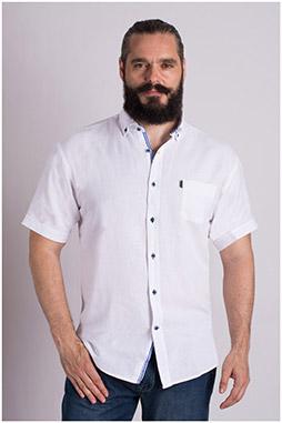 Camisas, Sport Manga Corta, 108981, BLANCO