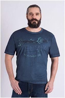 Sport, Camisetas M. Corta, 109023, MARINO