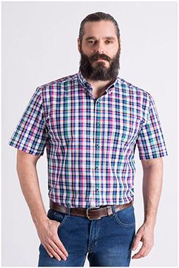 Camisas, Sport Manga Corta, 109040, FUCSIA