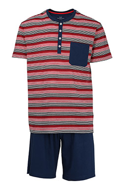 Homewear, Pijama M. Corta, 109045, GRANATE