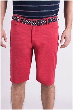 Pantalones, Bermudas, 109065, ROJO