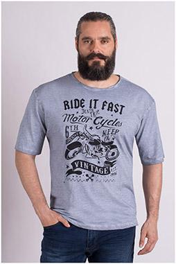 Sport, Camisetas M. Corta, 109069, GRIS MEDIO