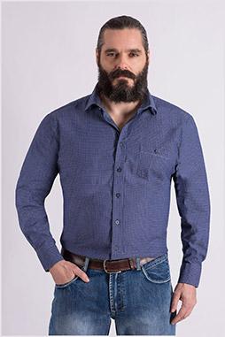 Camisas, Sport Manga Larga, 109082, INDIGO