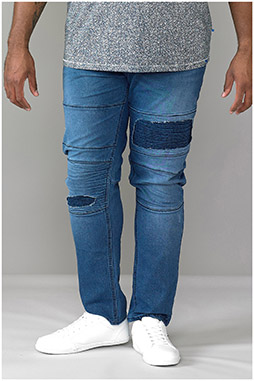 Pantalones, Vaqueros, 109097, INDIGO