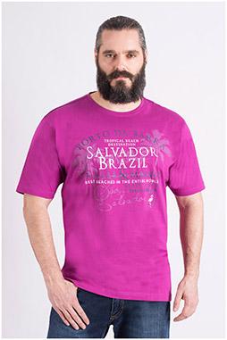 Sport, Camisetas M. Corta, 109121, FUCSIA