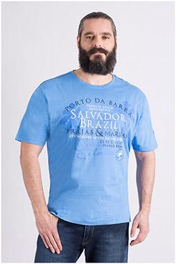 Sport, Camisetas M. Corta, 109121, CELESTE