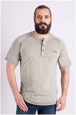 Sport, Camisetas M. Corta, 109135, KAKI