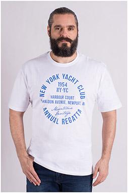 Sport, Camisetas M. Corta, 109139, BLANCO